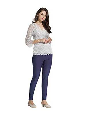 sweet-mommy-raised-stretchy-maternity-skinny-pants-blue
